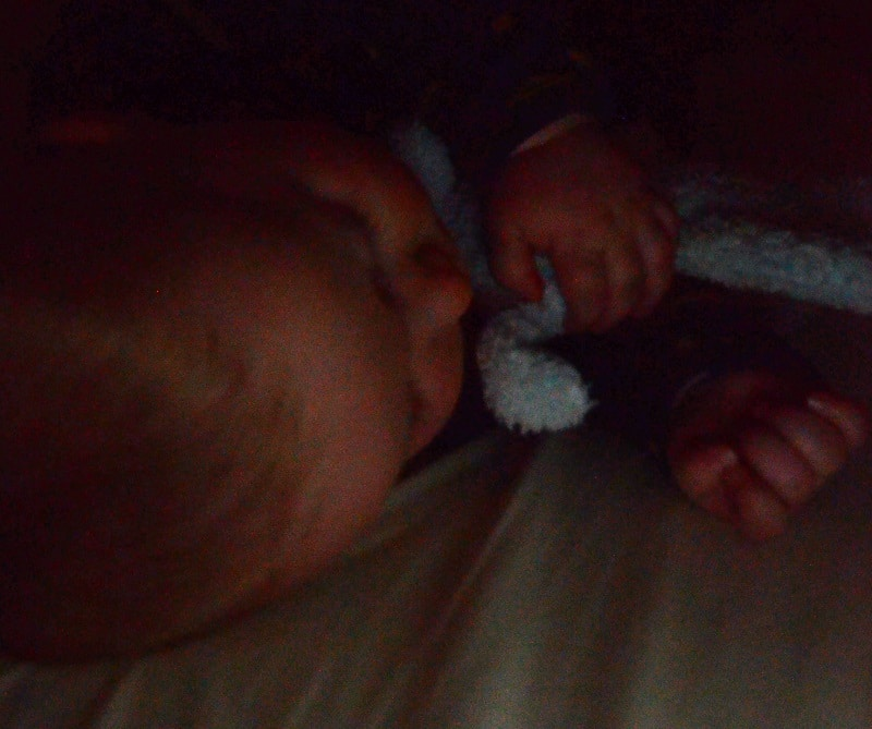 Baby sleeping well who followed baby sleep chart