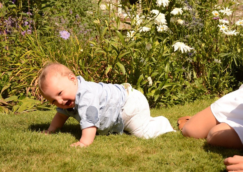 Development phases, such as learning to crawl may disrupt tour baby's sleep patterns