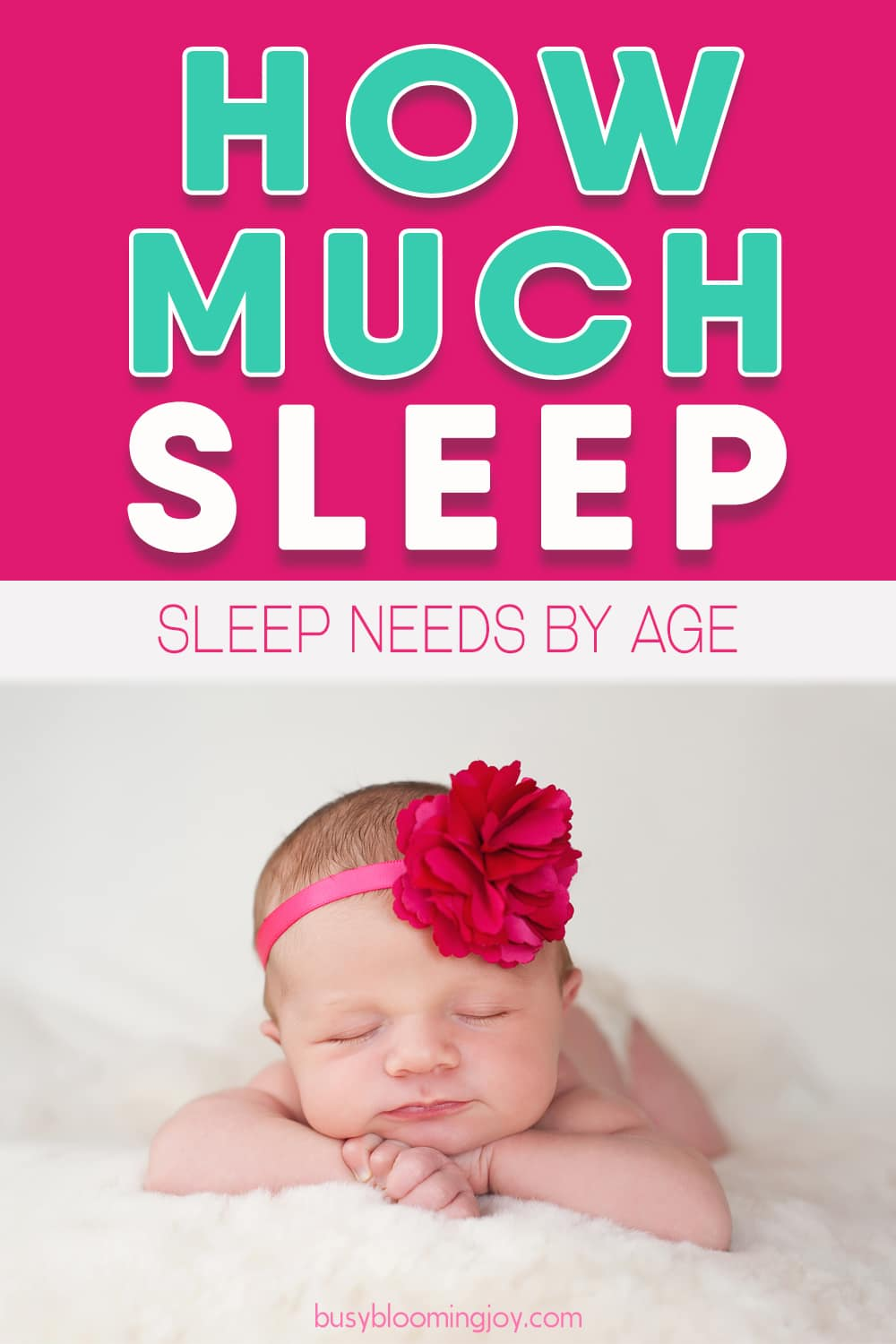 Baffled by how much sleep baby needs? Baby sleep chart to the rescue!
