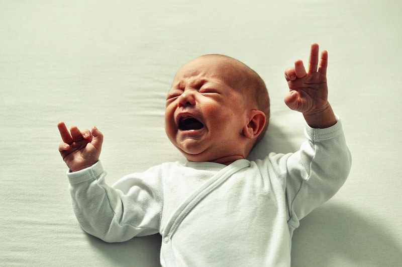 cry-it-out to get baby to sleep through night