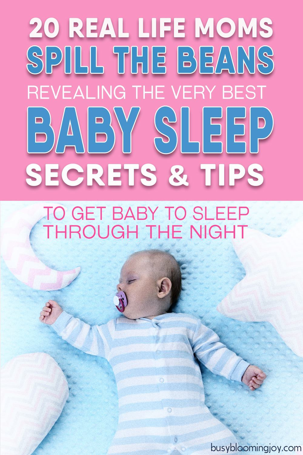 Desperate for baby to sleep through the night? 20 real-life moms share their best baby sleep tips