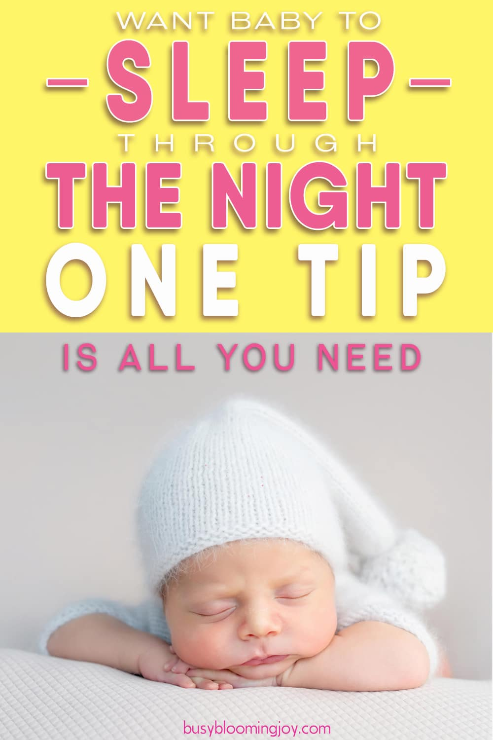 Want baby to sleep through the night?  Essential learnings from newborn sleep and the ONLY tip you really need