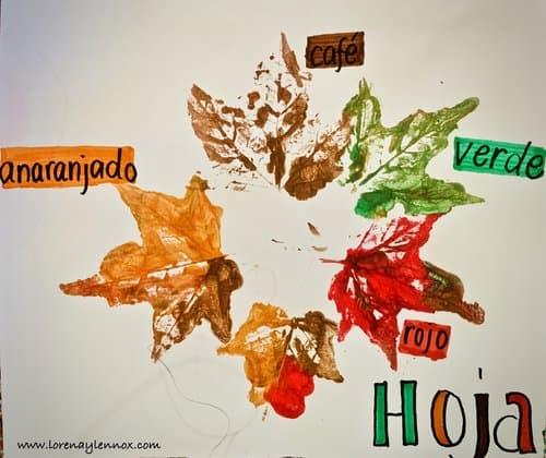 Fall+Toddler+Leaf+Imprint+Craft