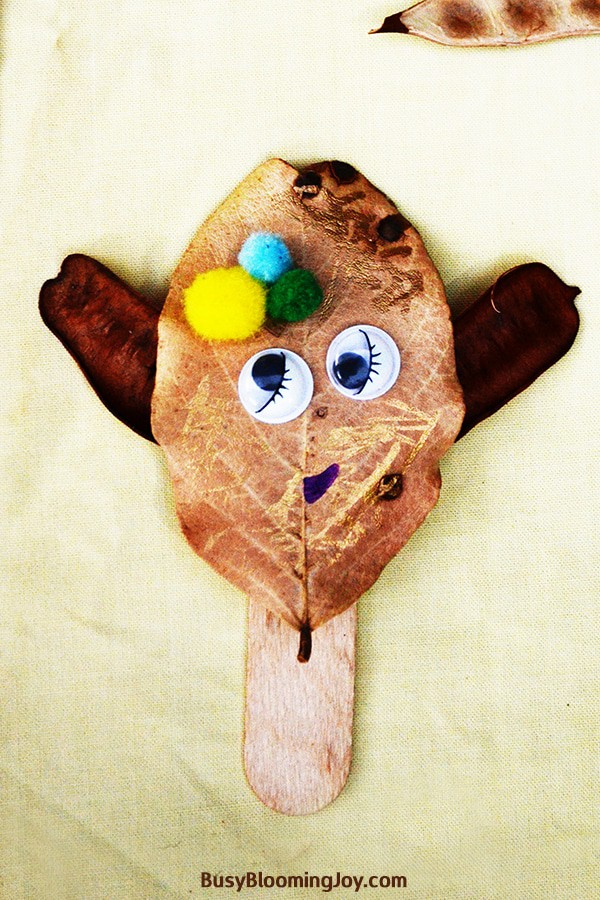 happy monster craft for toddlers