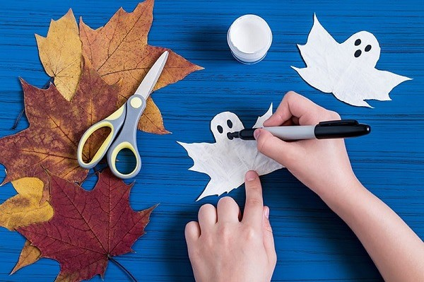 Halloween craft for toddlers