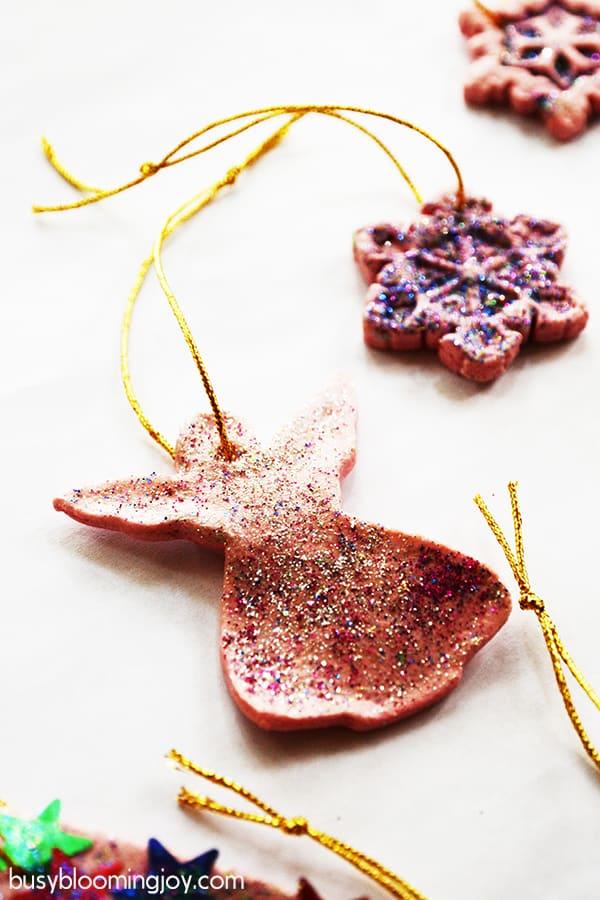 no stars salt dough trees christmas ornaments