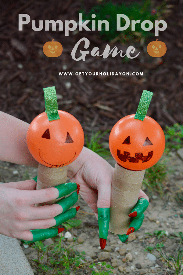 Pumpkin game for toddlers this Halloween