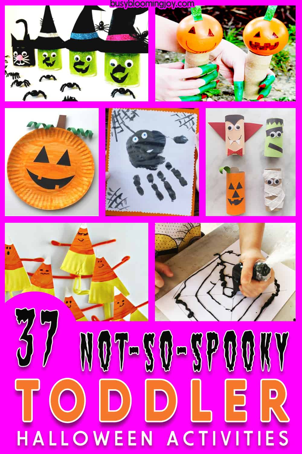 Halloween crafts and activities for toddlers and young kids
