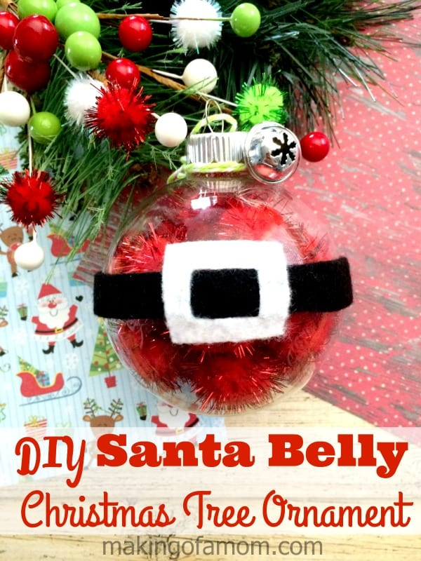 diy Christmas ornament for kids ot make