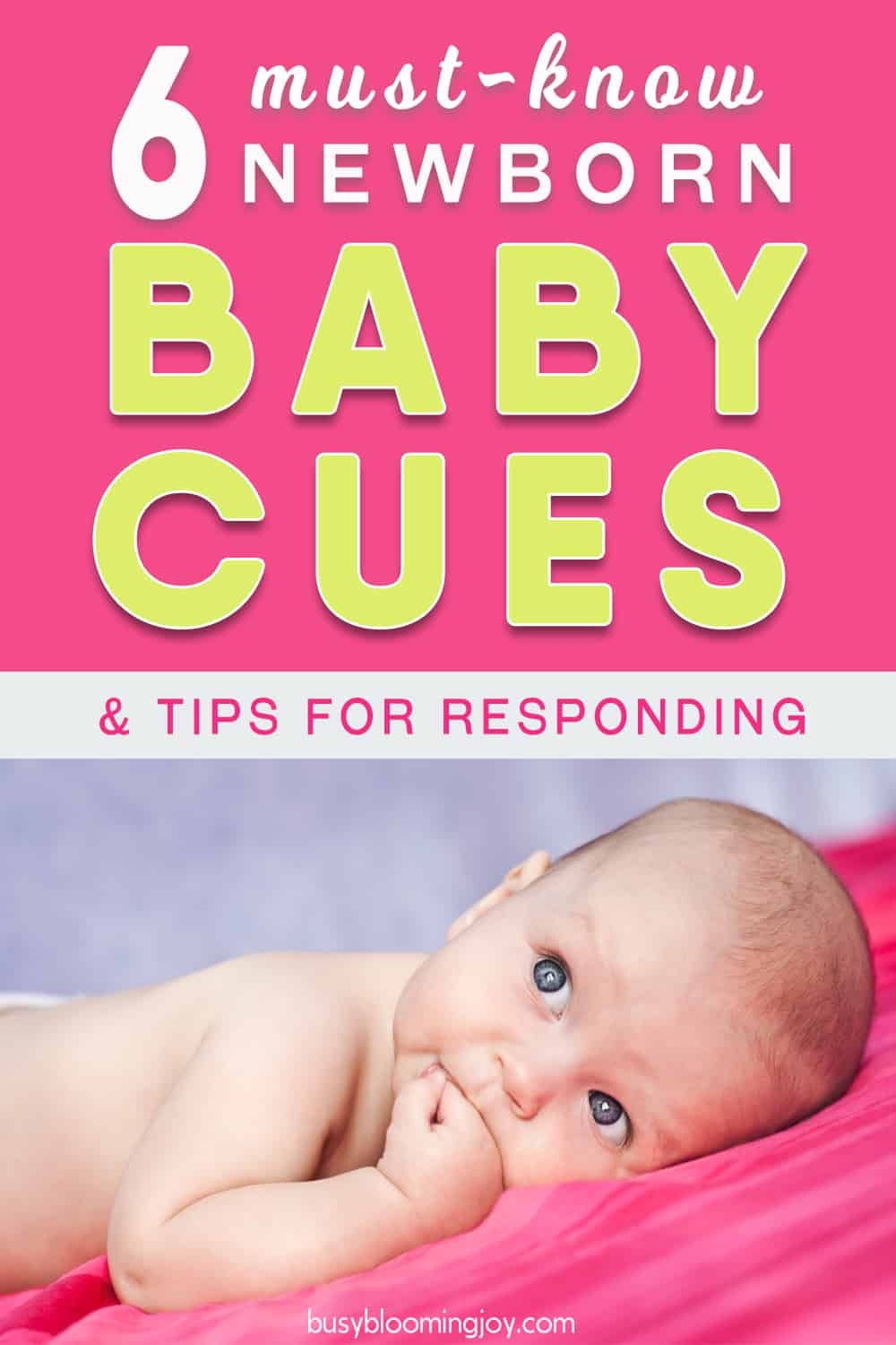 What the flip is my baby saying? 6 must-know BABY CUES & tips for responding effectively