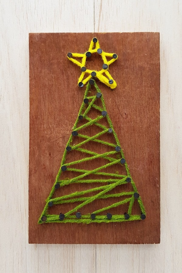Christmas tree activity for toddlers