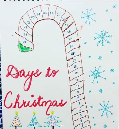 vasudha0610 Christmas countdown activity for preschoolers