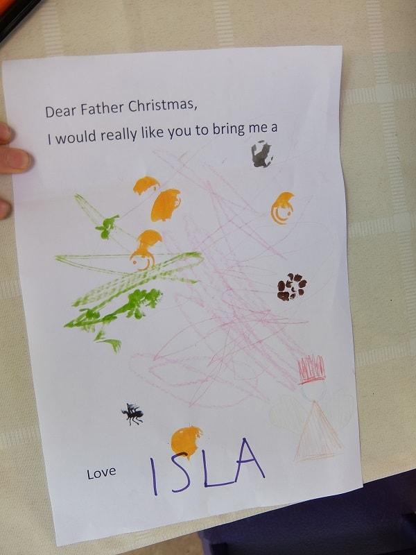 Santa letter is a must to Christmas tradition