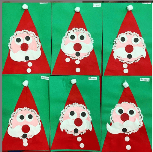 mrs.prek3 easy Toddler christmas craft