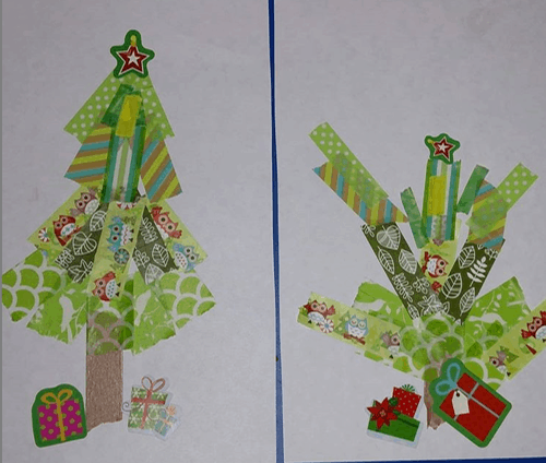 lori_loves_her_books washi Christmas tree craft for toddlers