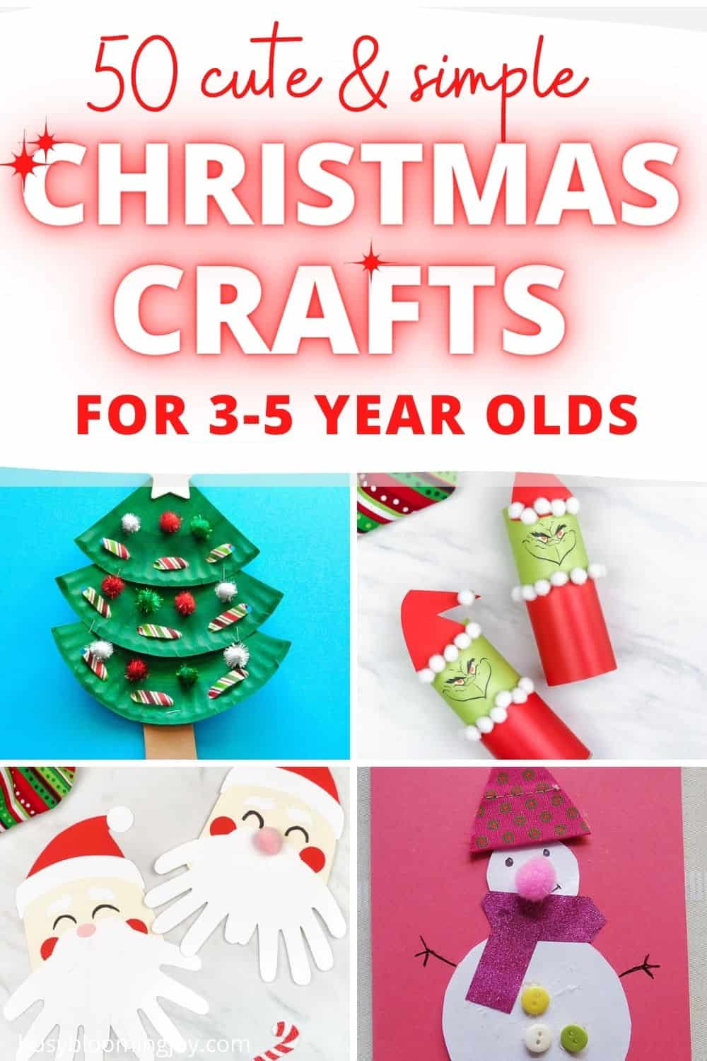 Feature image preschooler crafts