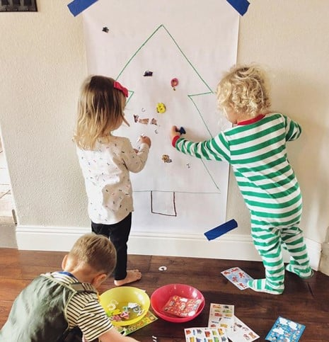 @kristinatoddlerapproved toddler christmas activity