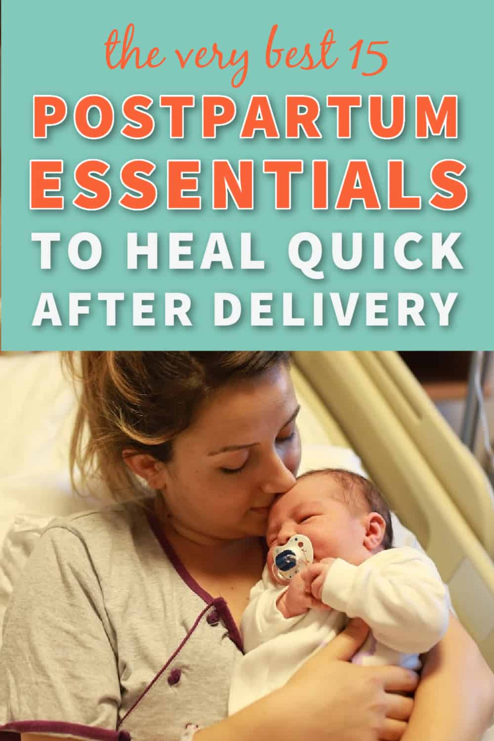 postpartum essentials pin