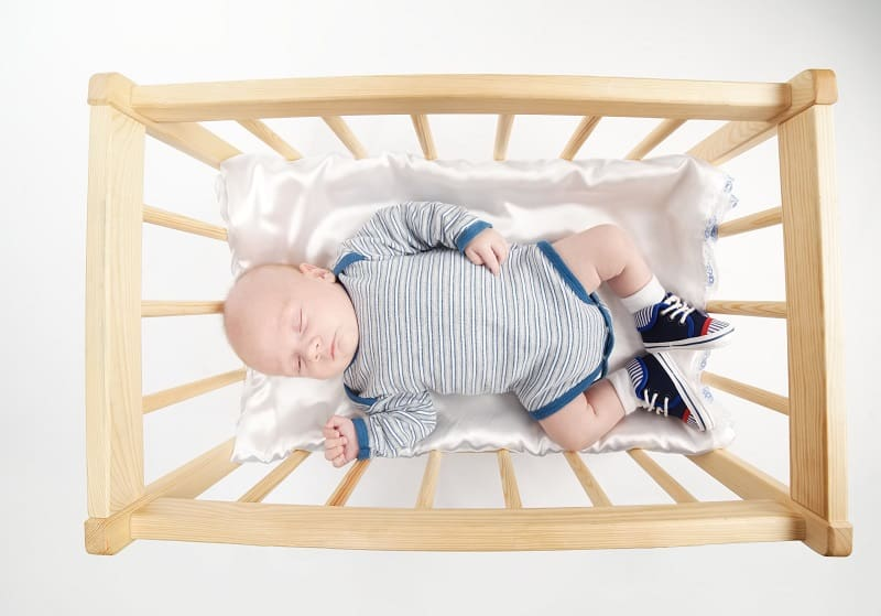 Wondering how long a newborn can sleep in a bassinet - sometimes the answer is rather obvious