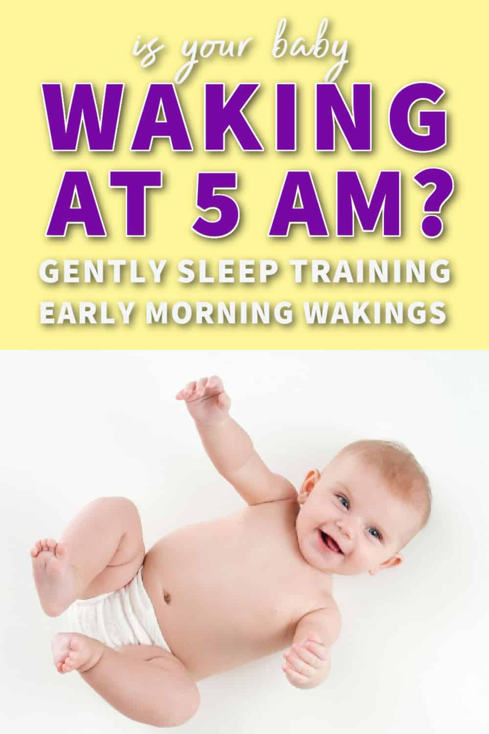 baby wakes up too early in the morning feature image