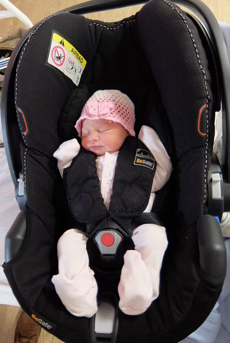 when is it safe to travel with a newborn by car - with a newborn car seat you're from birth is fine for short journeys