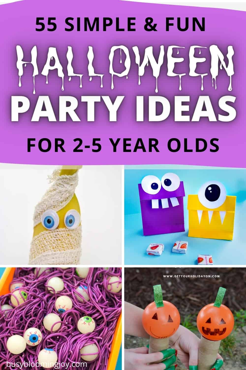 55 toddler Halloween party ideas (that preschoolers will love too)